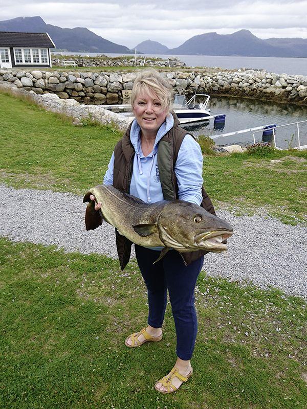 Angelreisen Norwegen 41771 Ferienhäuser Nerås Dorsch