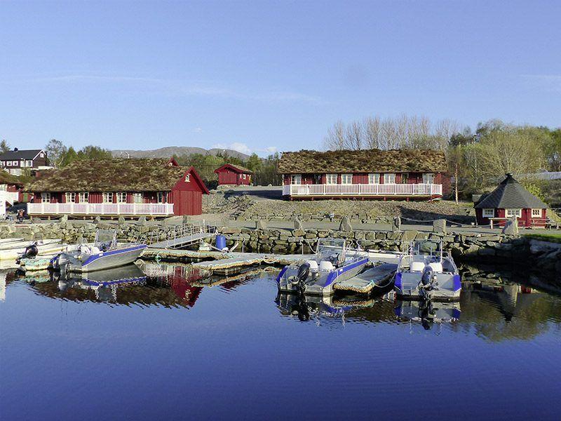 Angelreisen Norwegen 41901-908 Atlanterhavsveien Sjøstuer Ansicht