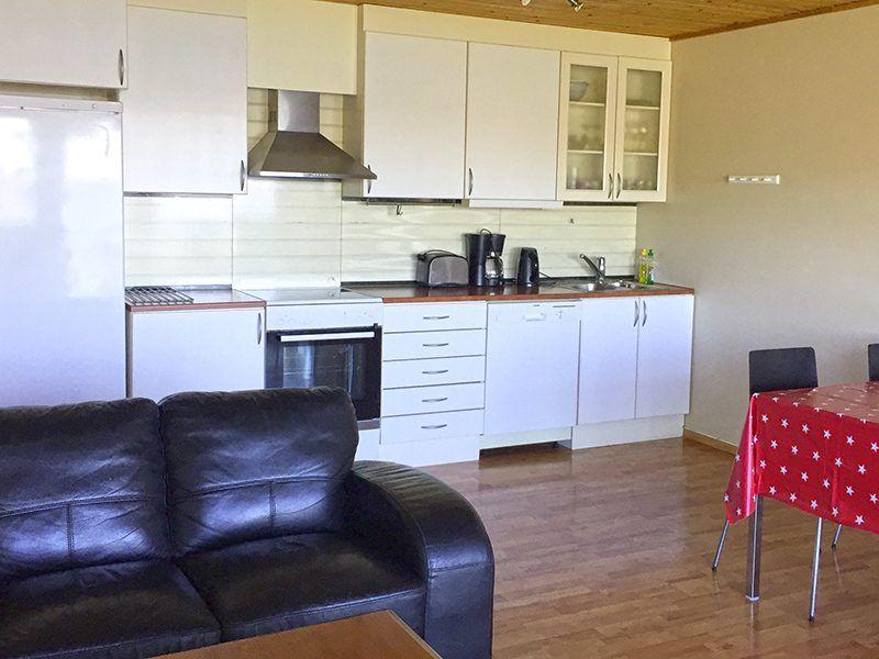 Angelreisen Norwegen 42037 Kjevikan Sjøferie Küche