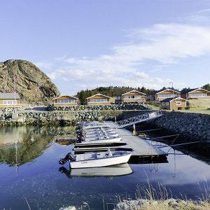 Angelreisen Norwegen 42311-42315 Karol's Angelcamp Ansicht