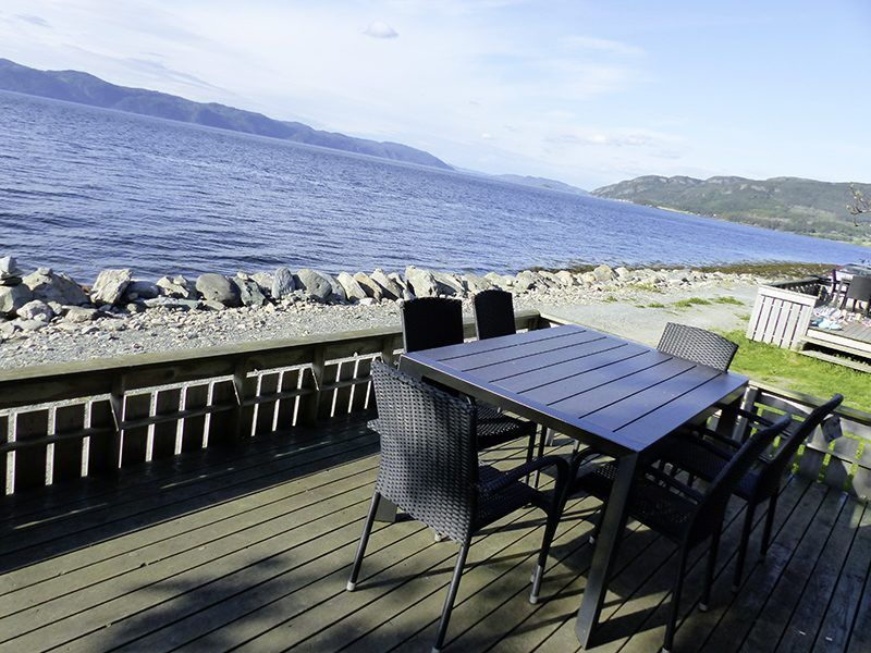Angelreisen Norwegen 42331-42333 Frosta Fjordbuer Terrasse