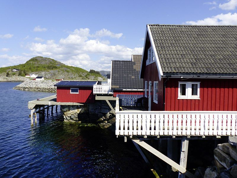 Angelreisen Norwegen 42351-42370 Nesvalen Rorbuer Übersicht