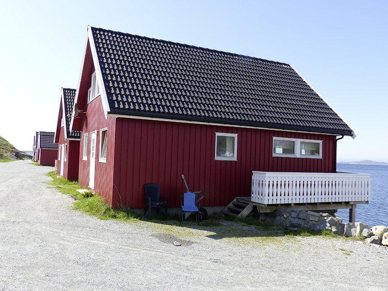 Angelreisen Norwegen 42351-42354 Nesvalen Rorbuer Ansicht