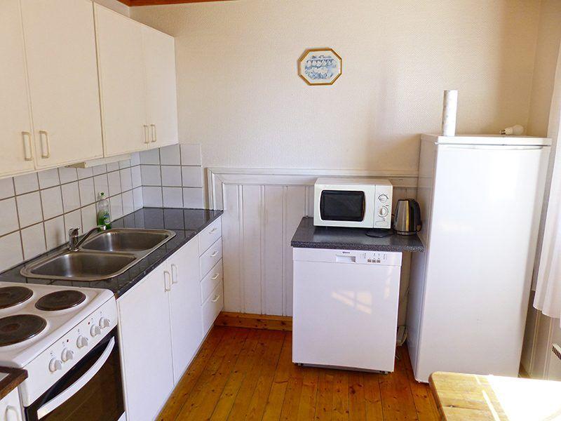 Angelreisen Norwegen 42361-42362 Nesvalen Rorbuer Küche