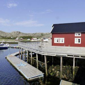 Angelreisen Norwegen 42395-42396 Seter Brygge Ansicht