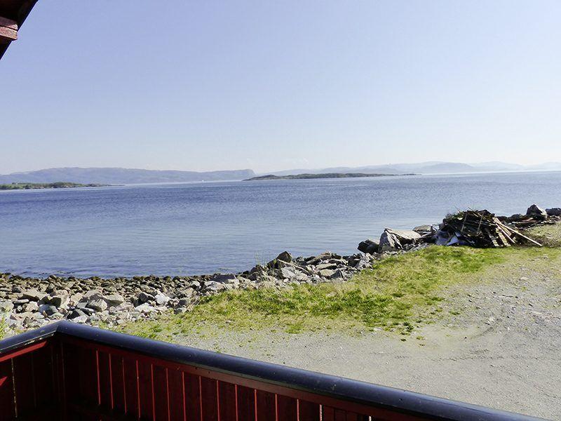 Angelreisen Norwegen 42471 Kvisterø Ausblick Terrasse