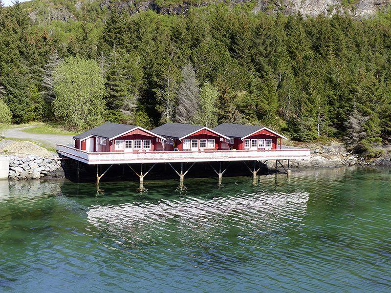 Angelreisen Norwegen 42891-42893 Vennesund Brygge Ansicht