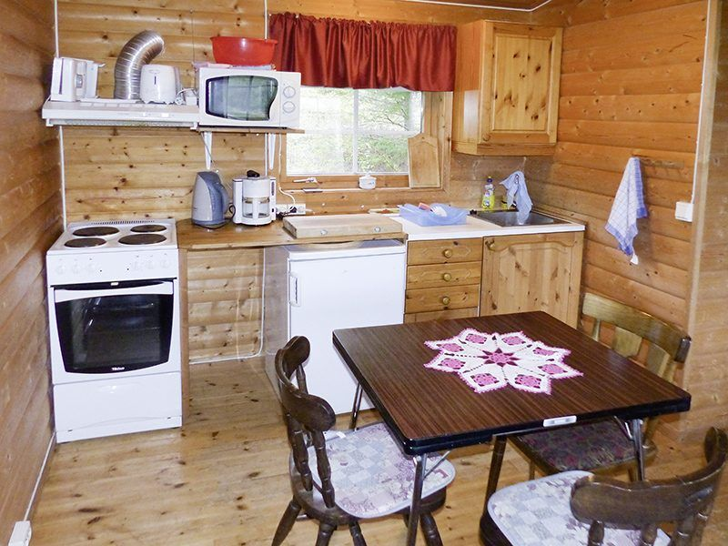 Angelreisen Norwegen 42930 Bjørnvika Natursenter Küche