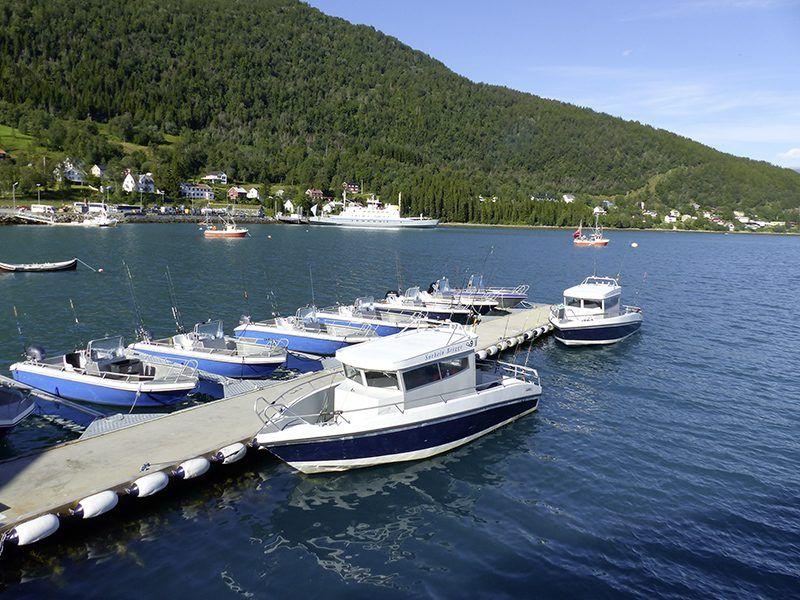 Angelreisen Norwegen 43551-557 Sørheim Brygge Hafen