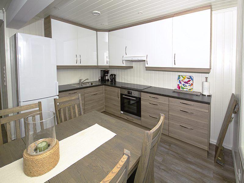 Angelreisen Norwegen 43554-555 Sørheim Brygge Küche