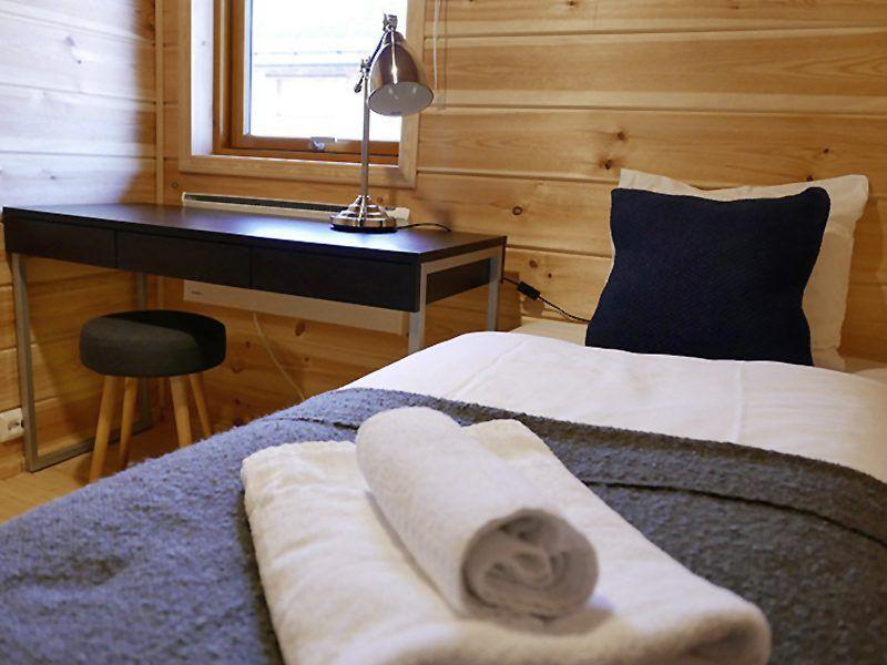 Angelreisen Norwegen 43821-823 Mikkelvik Brygge Einzelschlafzimmer