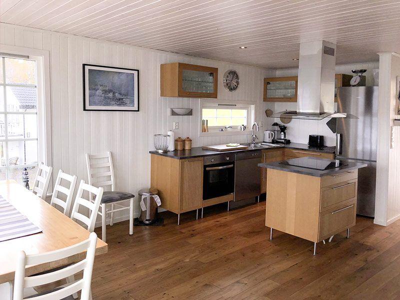 Angelreisen Norwegen 41771 Ferienhäuser Nerås Küche