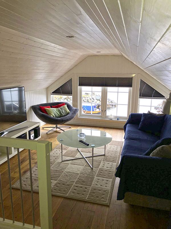 Angelreisen Norwegen 41771 Ferienhäuser Nerås wohnen TV