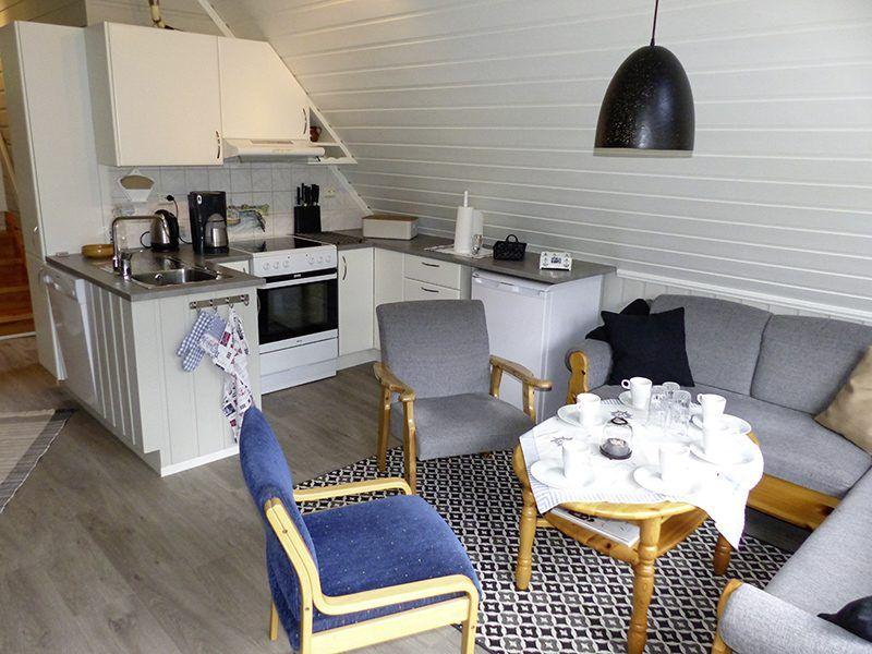 Angelreisen Norwegen 41780 Vestrefjord Wohnen, Küche