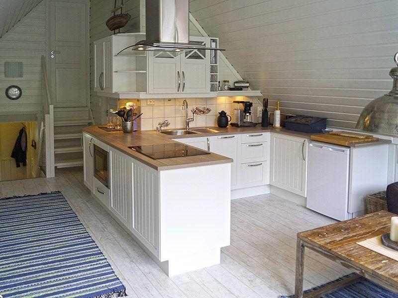 Angelreisen Norwegen 41805 Vestrefjord Küche