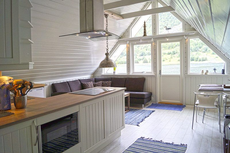 Angelreisen Norwegen 41805 Vestrefjord Überblick Innen