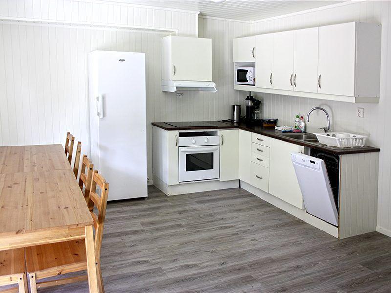 Angelreisen Norwegen 42451-42452 Flatanger Rorbuer Küche