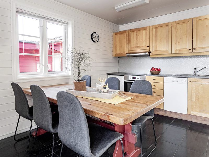 Angelreisen Norwegen 43571-43575 XLyngen Küche