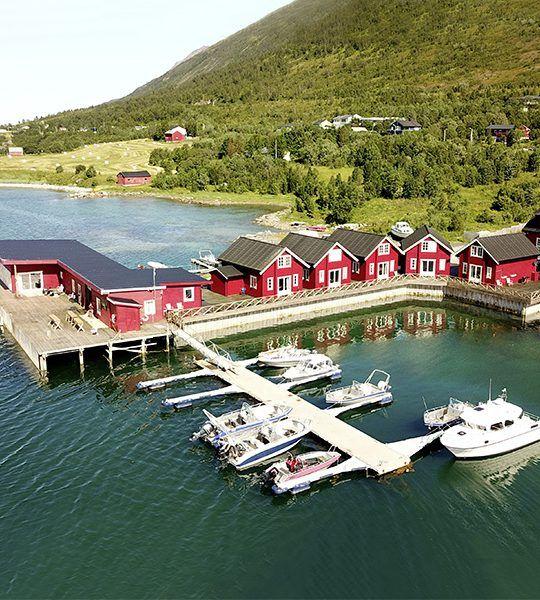 Angelreisen Norwegen 43576-577 XLyngen Ansicht