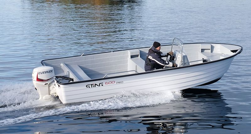 "Solstrand Fjord Holiday - Boot ""Sting"" 20 Fuß, 75 PS"