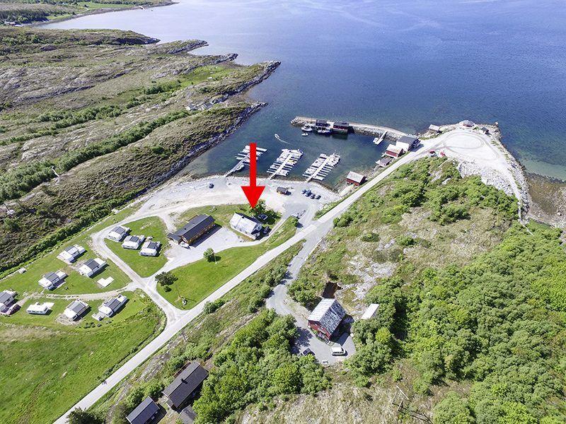 Angelreisen Norwegen 42441 Nord-Flatanger Utvorda Luftbild