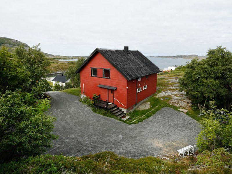 Angelreisen Norwegen 42442 Flatanger Sjøhus Ansicht