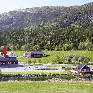 Angelreisen Norwegen 42801-42804 Bogen Feriehus Ansicht
