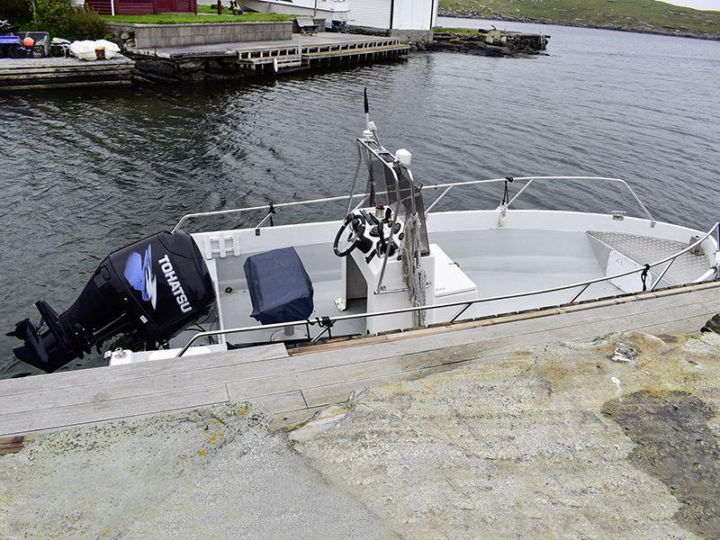 Kvitsøy Knut Boote: 18 Fuß / 115 PS