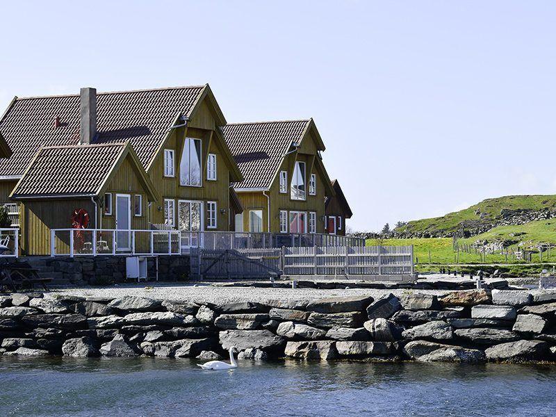 Angelreisen Norwegen 40324 Kvitsøy Seehaus Knut Ansicht