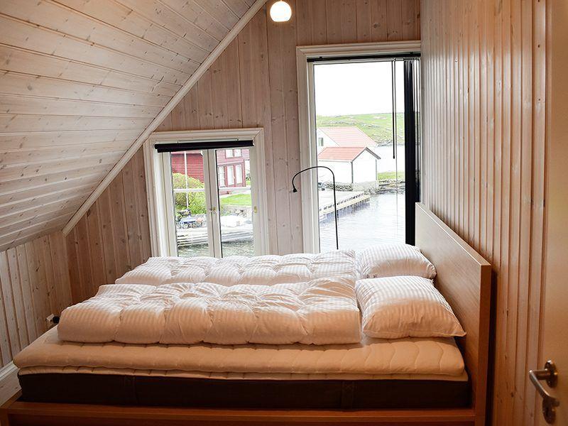 Angelreisen Norwegen 40324 Kvitsøy Seehaus Knut Schlafen