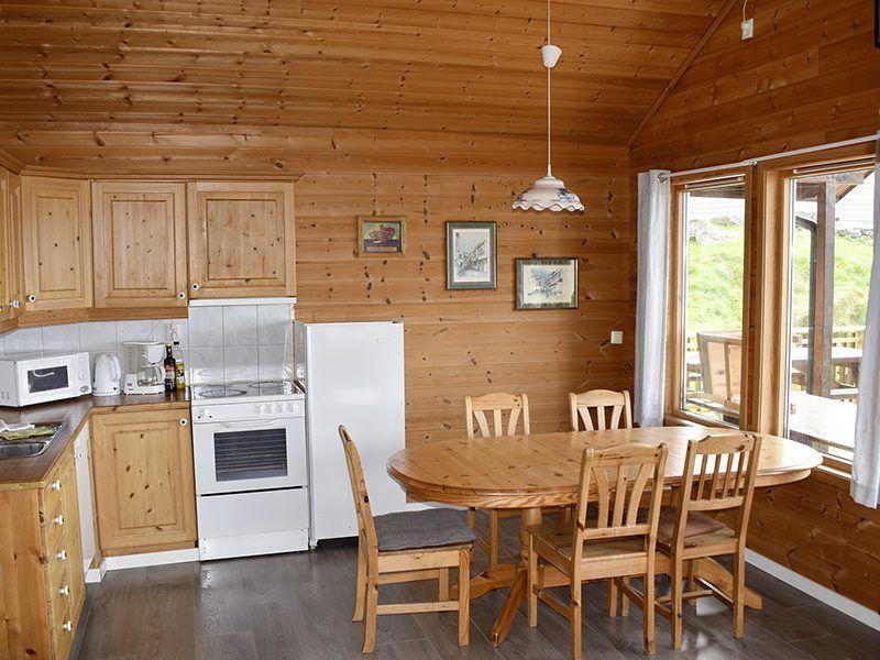 Angelreisen Norwegen 40414 Furre Hytter Küche