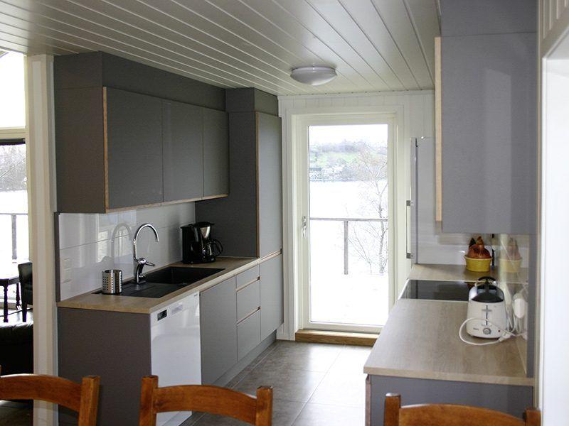 Angelreisen Norwegen 40431 Furre Hytter Küche