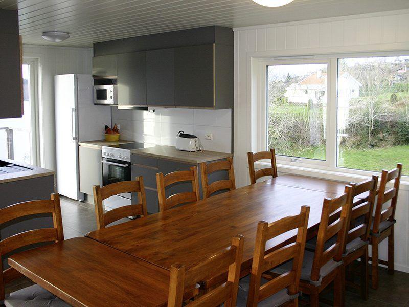 Angelreisen Norwegen 40431 Furre Hytter Küche, Essplatz