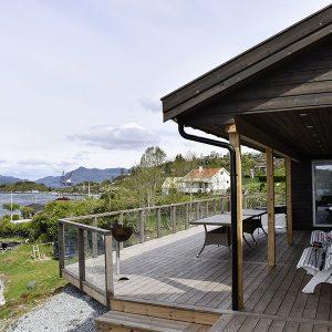 Angelreisen Norwegen 40431 Furre Hytter Terrasse