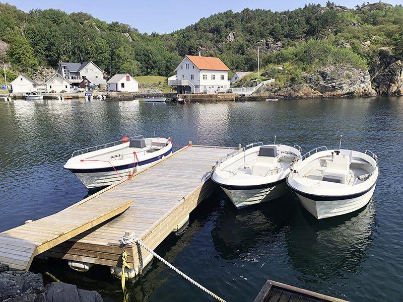 Angelreisen Norwegen 41171-41172 Stangeneset Gjestebrygge Hafen