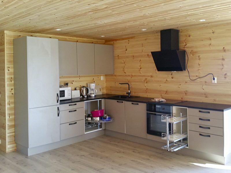 Angelreisen Norwegen 41929 Betten Rorbuer Küche