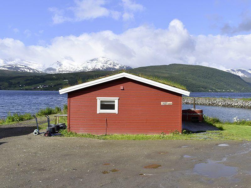 Angelreisen Norwegen 43505 Lavangen Sjøfiske Rückansicht