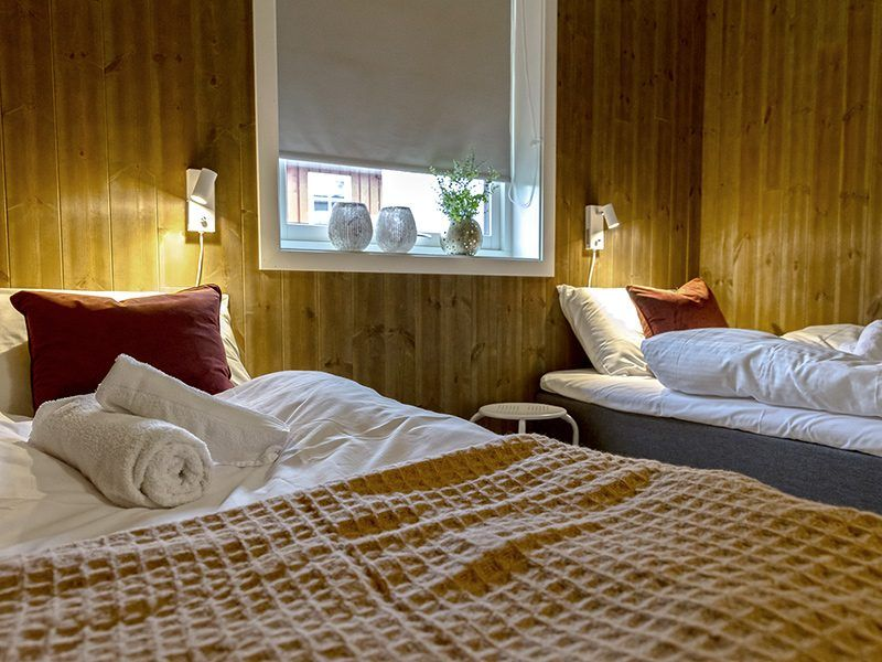 Angelreisen Norwegen 43506-508 Lavangen Sjøfiske Schlafen