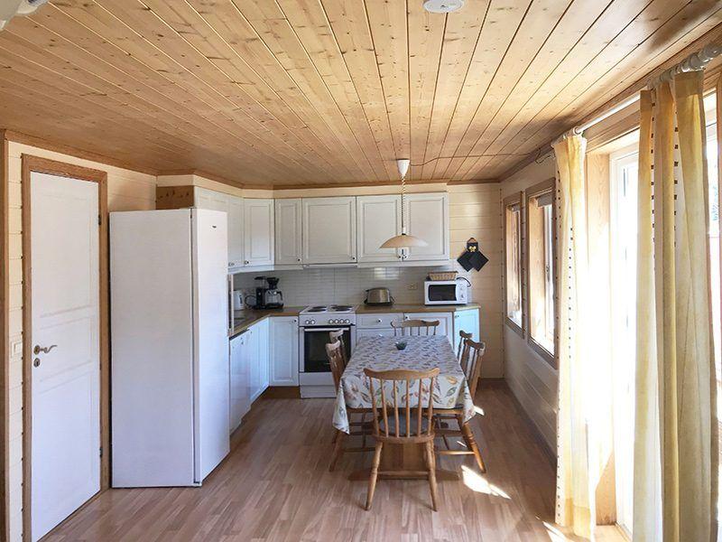 Angelreisen Norwegen 40072+40075 Røsstad Hytter Küche