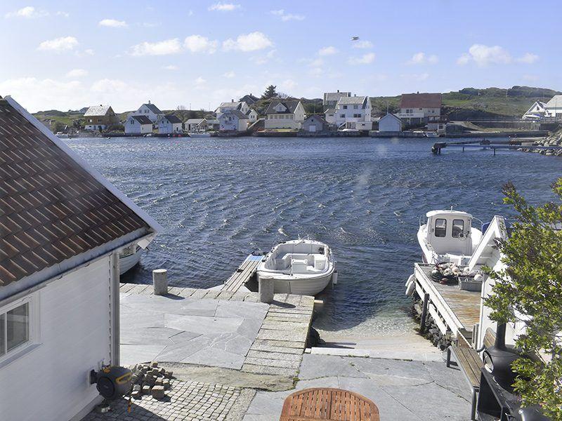 Angelreisen Norwegen 40323 Kvitsøy Seehaus Ellen Ausblick
