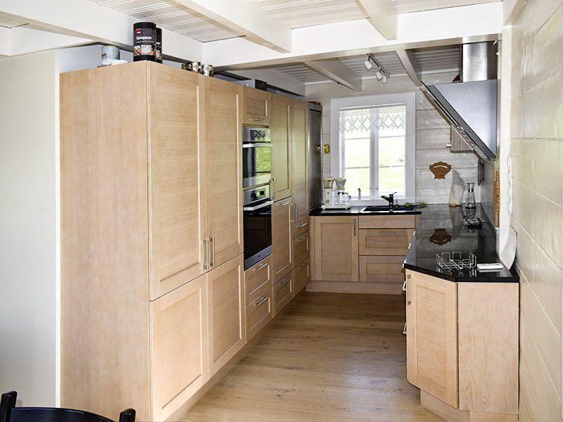 Angelreisen Norwegen 40323 Kvitsøy Seehaus Ellen Küche