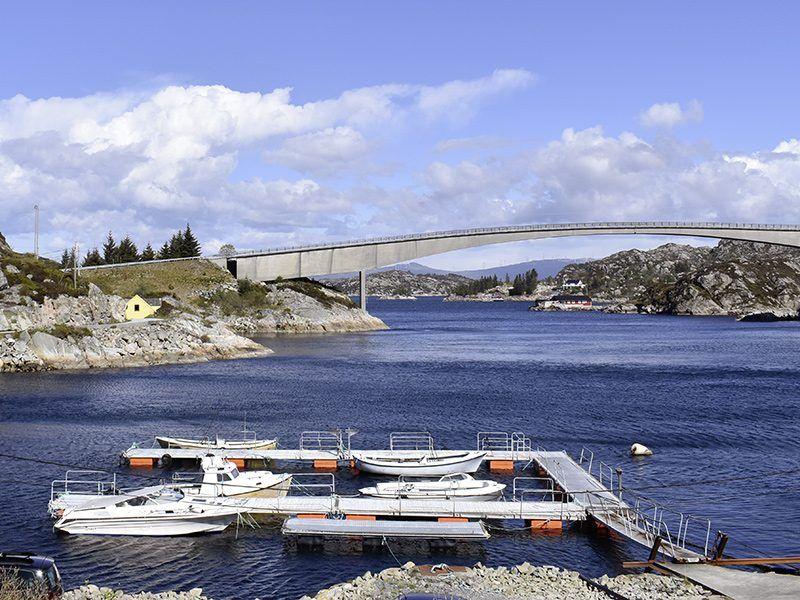 Angelreisen Norwegen 41081-41082 Brandasund Hafen