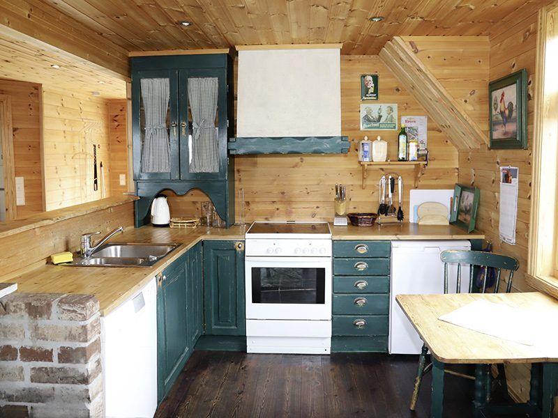 Angelreisen Norwegen 41120 Gassasundet Küche