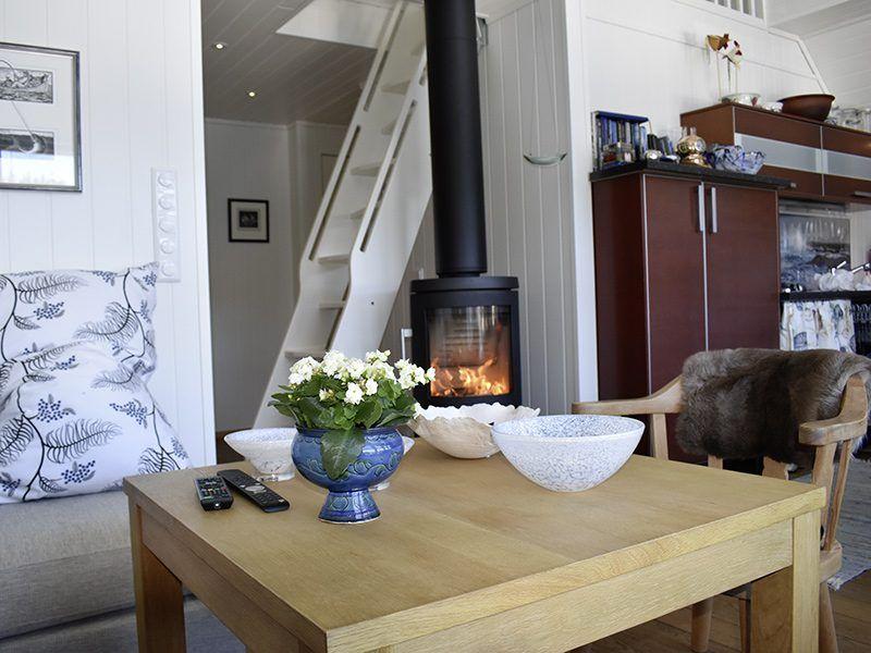 Angelreisen Norwegen 41180 Bjørnebu Kaminofen