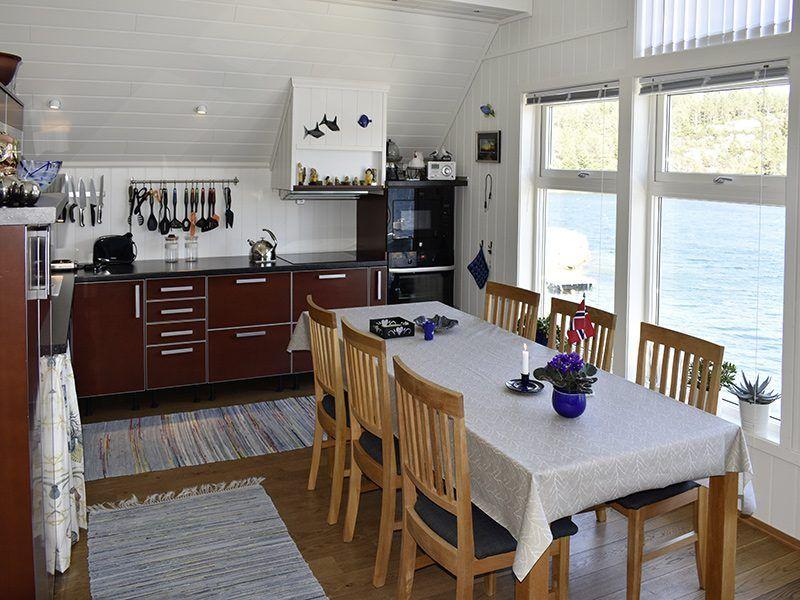 Angelreisen Norwegen 41180 Bjørnebu Küche