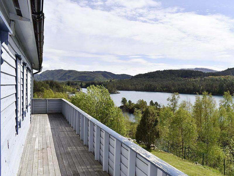 Angelreisen Norwegen 41353 Austgulen Fjordhytter Aussicht