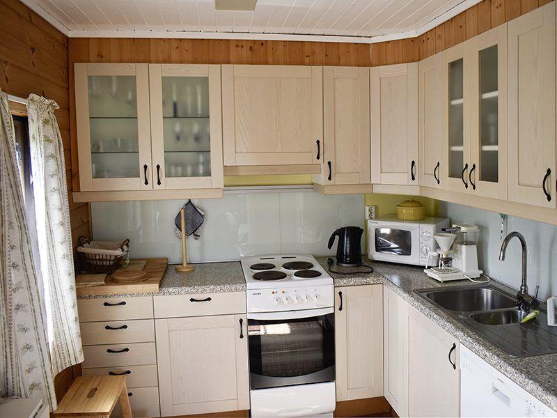 Angelreisen Norwegen 41353 Austgulen Fjordhytter Küche