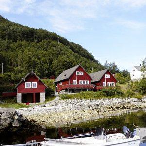 Angelreisen Norwegen 41401-41403 Sognefjord Ferienhäuser Ansicht