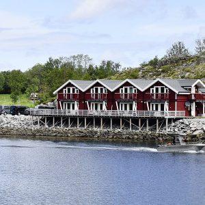 Angelreisen Norwegen 42451-42464 Flatanger Rorbuer Ansicht