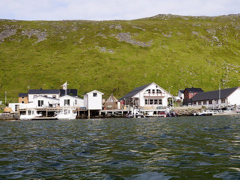Angelreisen Norwegen 45001-45012 Skarsvåg Nordkapp Ansicht